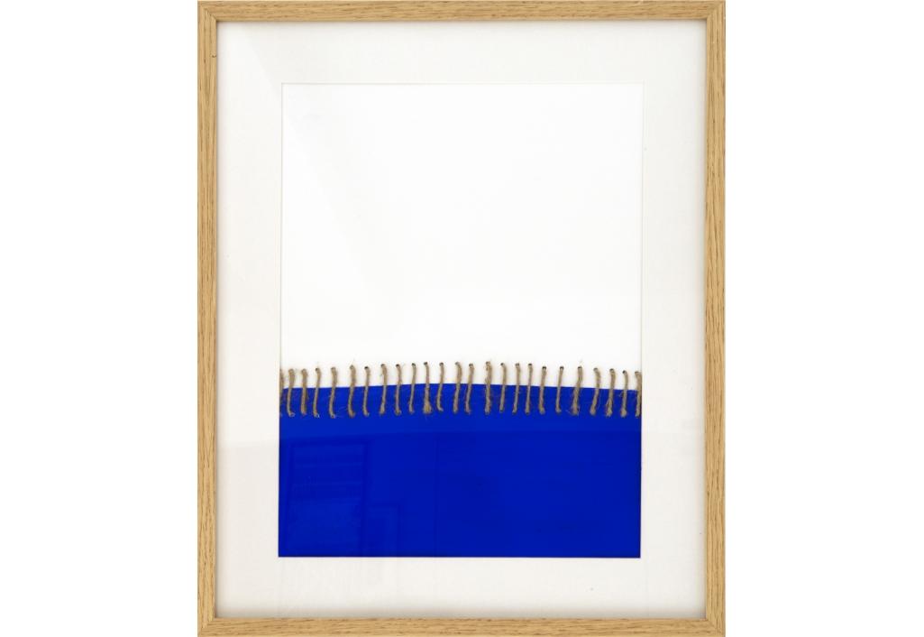 bleu, abstrait, peinture, youri visser benazeraf
