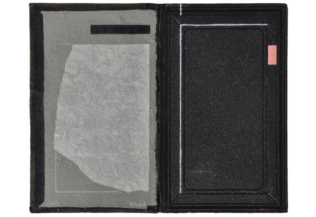 Livre ouvert - Noir et blanc