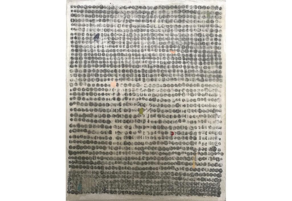 Une peinture d'Hanna ten Doornkaat sur Zeuxis - OT -© Emily Almond Barr
