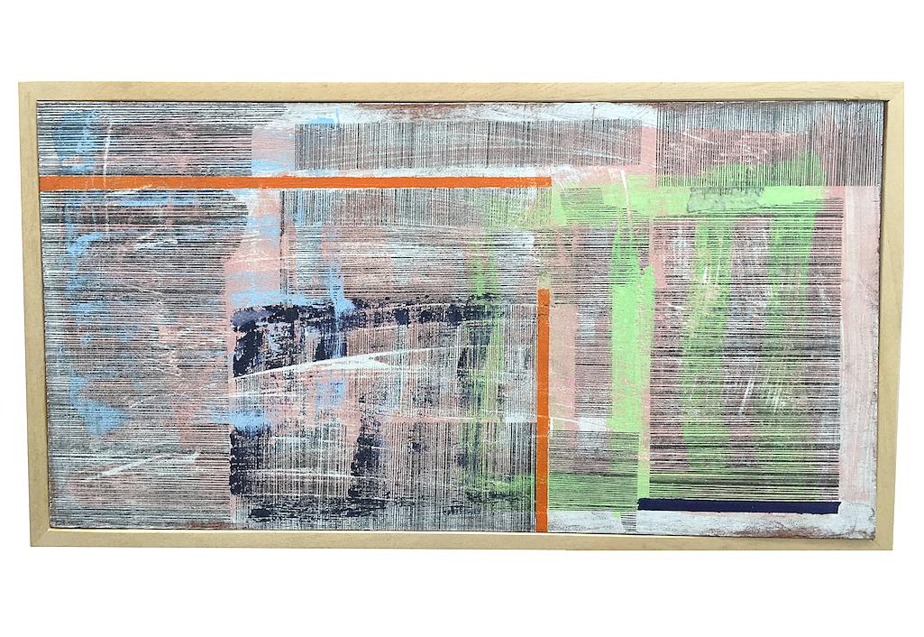 Une peinture d'Hanna ten Doornkaat sur Zeuxis © Emily Almond Barr