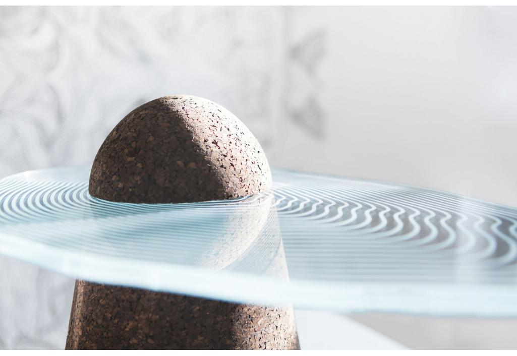Maddi Bi - Sculpture table basse