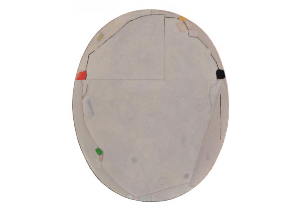 Ovale blanc 13067