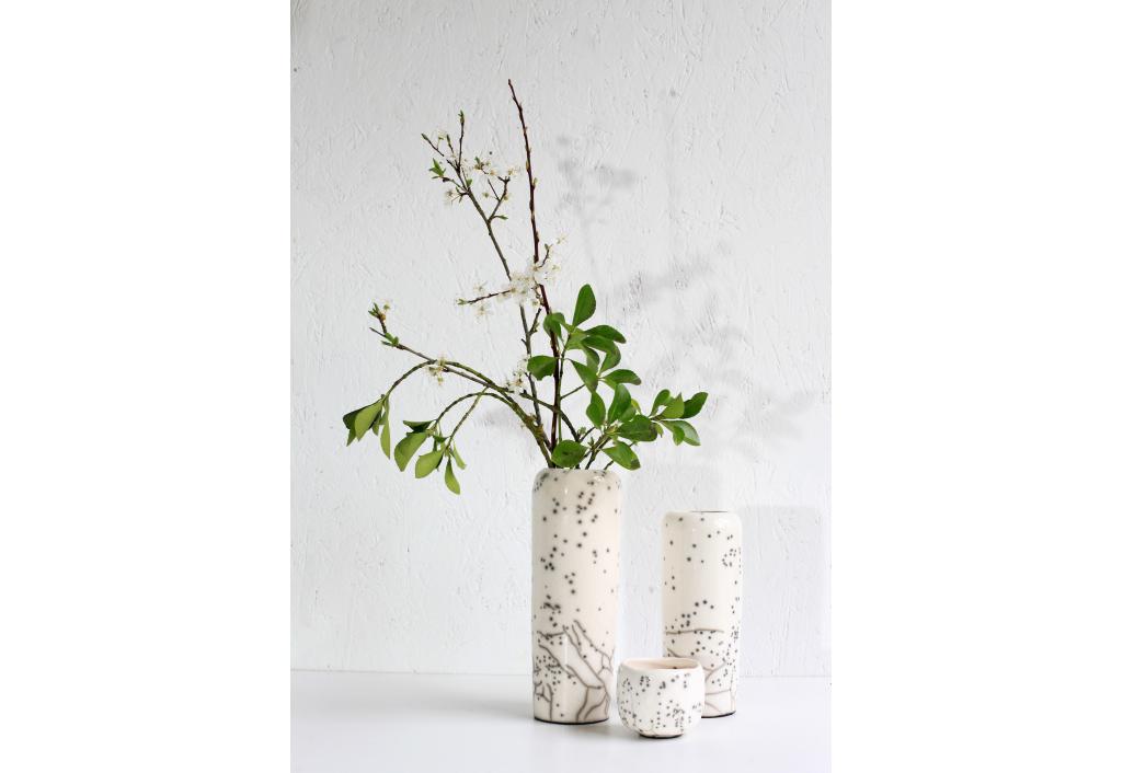 Vase blanc - Great size